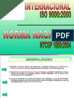 PRESENTACIÓN NTCGP1000 2004