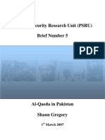 Al-Qaeda in Pakistan by Shaun Gregory