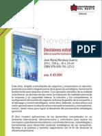 Decisiones estratégicas-Macroadministración