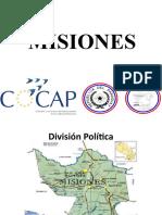 Presentación de Misiones para COCAP