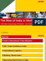 Eu India Dhl in India 2004
