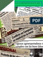 Panorama laboral de la Agroexportacion. Peru 2007