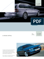 X Type 2005 Est Brochure