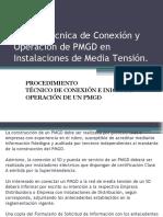 Norma Técnica de Conexión y Operación de PMGD