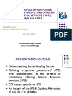Corporate Governance Transparency and Market Discipline in Islamic Banks2