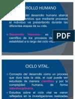 Cap. No. 1. Desarrollo Humano