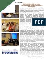 II ENCUENTRO MESOAMERICANO  DE GÉNERO EN GUATEMALA [extractos de la declaratoria del 2o encuentro]