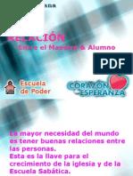 9 Relacion Maestro Alumnos C