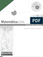 Ecuaciones y Sistemas de Ecuaciones