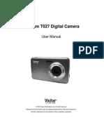 ViviCam T027 Camera Manual