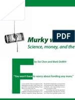 Berkeley Science Review 20 - Murky Waters