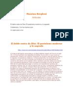 Borghesi.el Doble Rostro de Dios