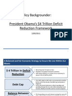 President's Fiscal Framework