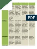 Rúbrica preguntas de desarrollo prueba Psicología del Desarrollo