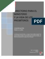 Directorio Para El Ministerio y La Vida de Los Presbiteros