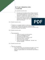 Determinacion de Cu Por Volume Tri A Redox