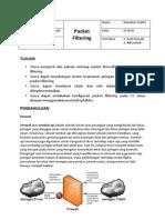 16 Packet Filtering