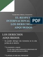 EL RESPETO INTERNACIONAL A LOS DERECHOS ADQUIRIDOS