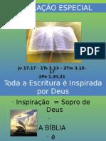 REVELAÇÃO ESPECIAL