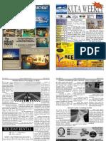 "Kuta Weekly-Edition 233 ""Bali""s Premier Weekly Newspaper"""