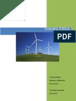 Energía Eólica INFORME