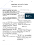 IEEE- Self Consistent Gain Analysis