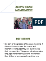 Teaching Using Dramatization