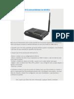 Roteador GWM 1420 Q Com Problemas Na Wireless