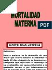 4.-MORTALIDAD MATERNA