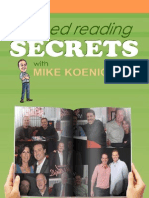 Speed Reading Secrets