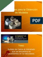 Materiales Para La Obtencion de Modelos