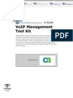 CA E-Guide -VoIP Management Tool Kit