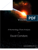 David Comdant - Visdom Numerology Chart Analysis