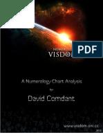David Comdant - Visdom Numerology Chart Analysis