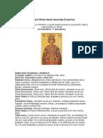 Acatistul Sfintei Marei Mucenite Ecaterina