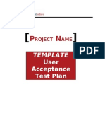 Template Uat Plan