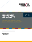 Innovate or Adapt - HBR Singapore Sessions Report