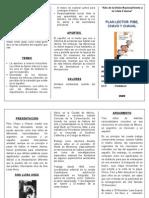 Triptico Pibe Chavo y Chaval Imprimir
