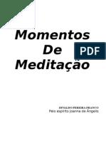 Momentos de Meditacao  - Divaldo Pereira Franco (Joana de Ângelis)