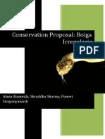 Conservation Proposal