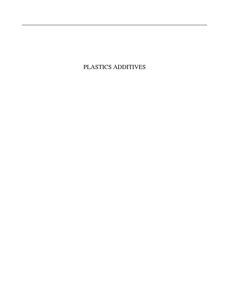 Plastic Additives | Microscope | Spectroscopy
