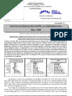 Indices des prix à la consommation - Mars 2008 (INSTAT - 2008)