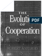 Axelrod - The Evolution of Cooperation (1984)