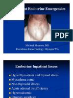 Endocrine Emergencies Ppt