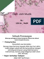 Oleh- oleh Mudik