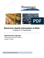Electronic Health Information at Risk FINAL 1