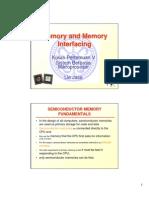 Memory and Memory Interfacing Pertemuan V