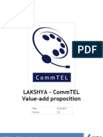 LAKSHYA CommTEL ValueAdd Document
