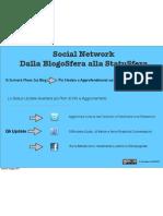"""3 Nd Lesson """"Social Network dalla BlogoSfera alla StatuSfera"""""""
