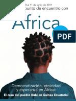 Arantzazu Africa 2011